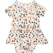 Body Vestido Bebê Dots micromodal