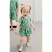 Body vestido bebê micromodal Estojo