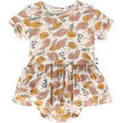 Body vestido bebê micromodal kiwi