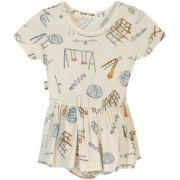 Body Vestido Bebê Parquinho micromodal