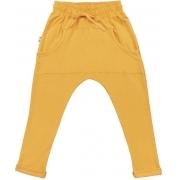 Calça infantil saruel amarelo manga