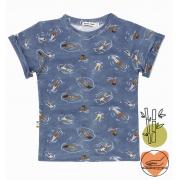 camiseta  infantil Mergulho