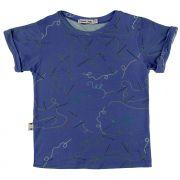 camiseta  infantil micromodal agulha e linha