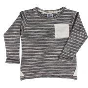 Camiseta Manga Longa listrada