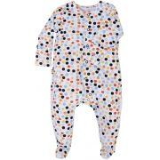 Macacão Bebê Pezinho Dots