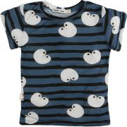 Pinguim camiseta  infantil micromodal