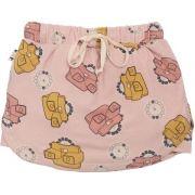 Shorts Saia Infantil Rosa View Master