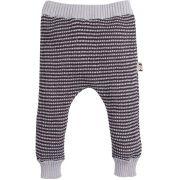 Tricot Calça infantil zigzag cinza