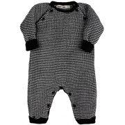 Tricot macacão bebê zigzag