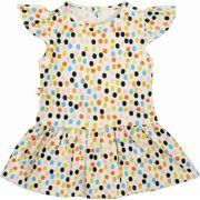 Vestido infantil Dots