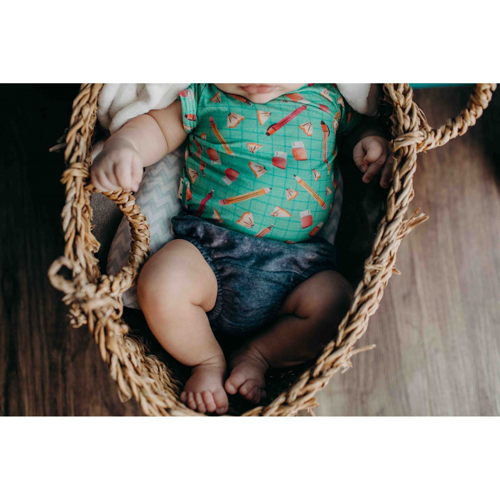 Body bebê micromodal Estojo