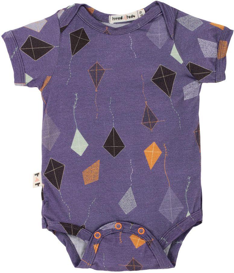 Body bebê pipa micromodal