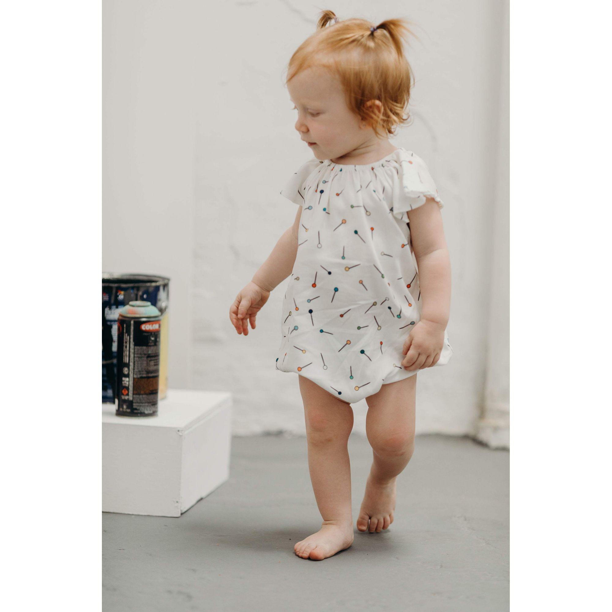 Body Bebê Sofie Alfinete