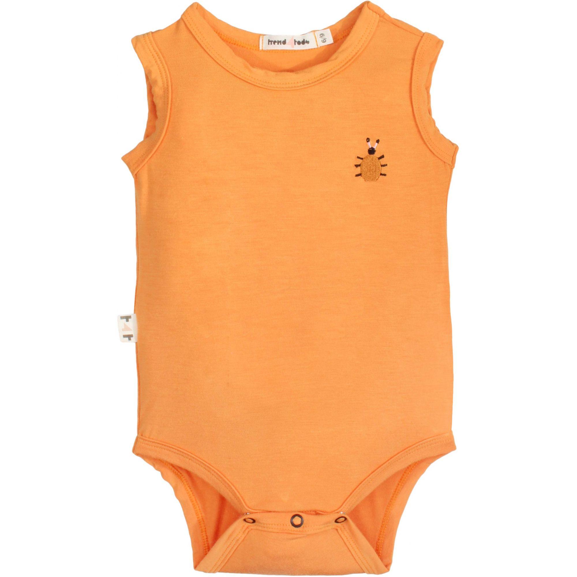 Body Regata Bebê laranja