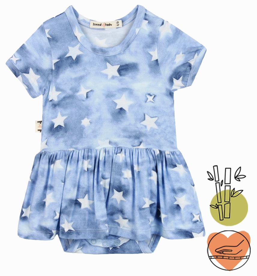 Body vestido Estrela