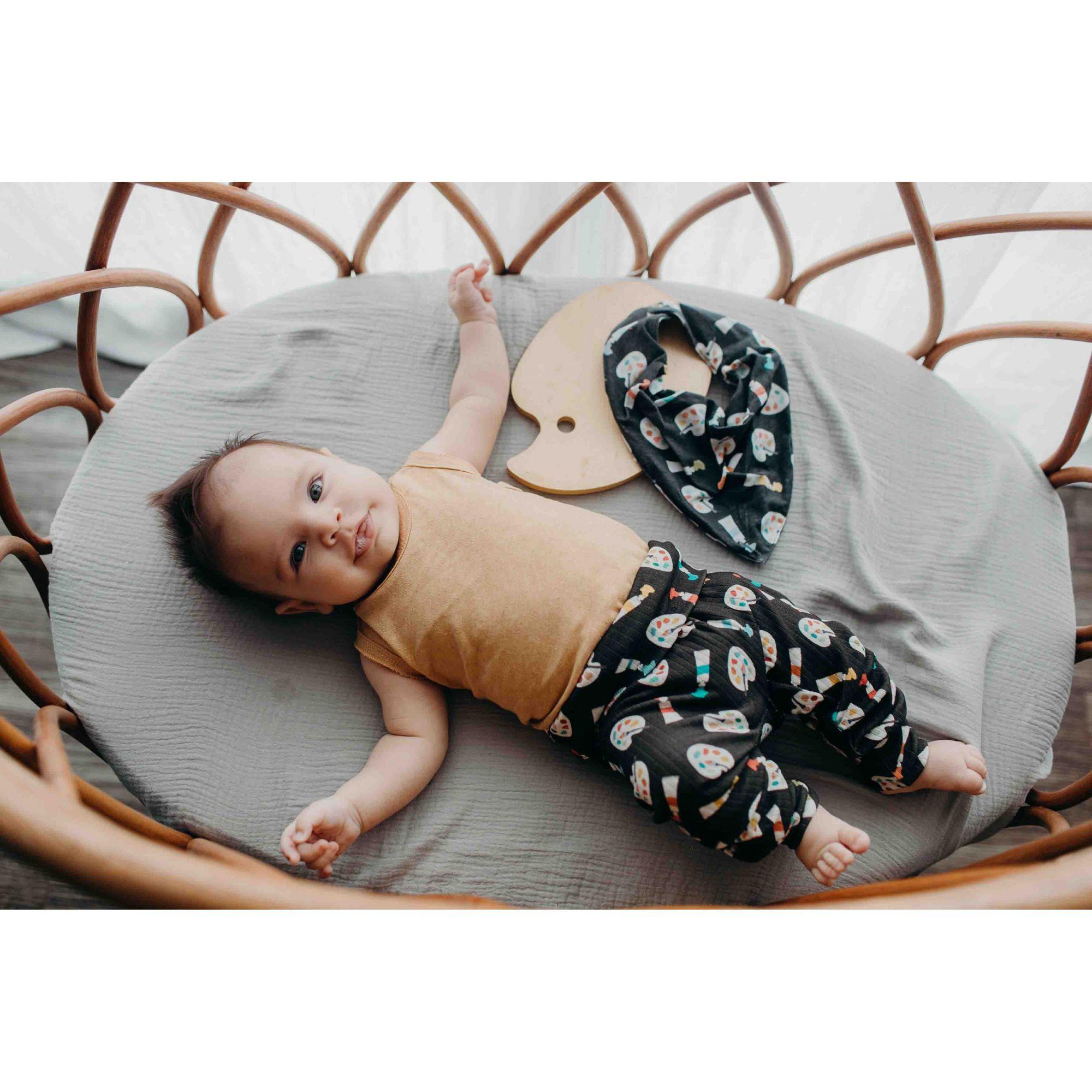 Calça Bebê aquarela