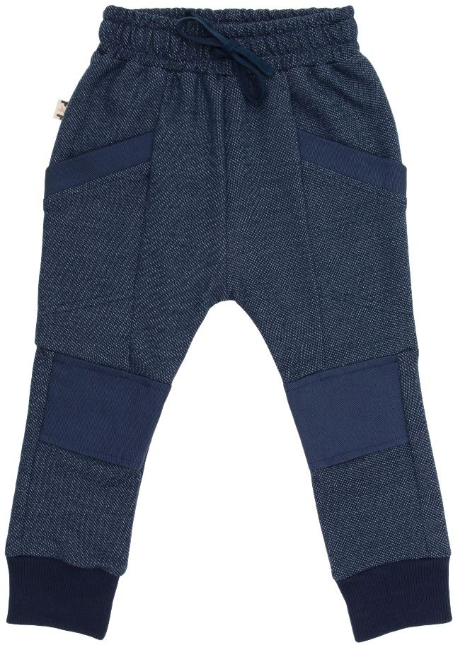 azul denim calça infantil