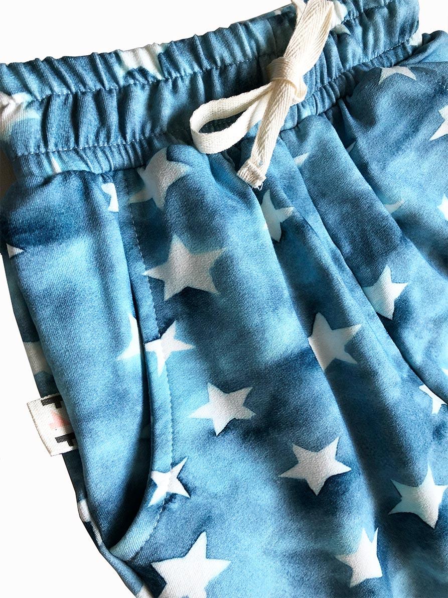 Calça infantil moletom estrelas