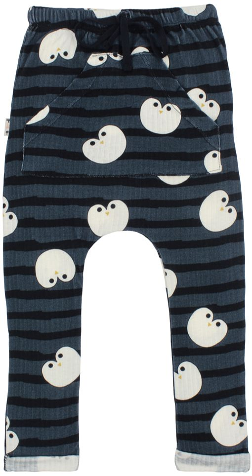Calça infantil saruel Pinguim