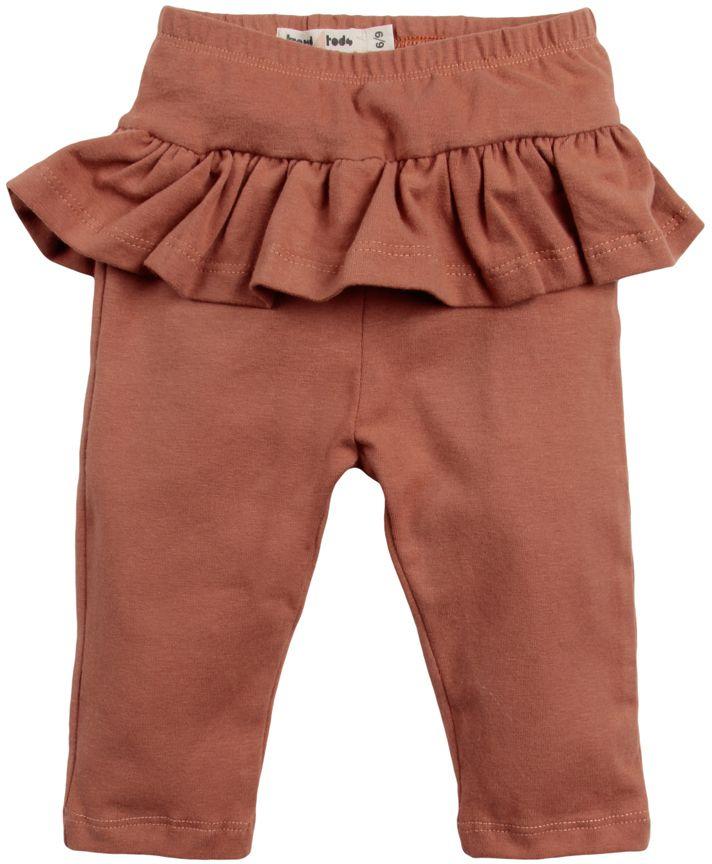 Calça legging babados Blush