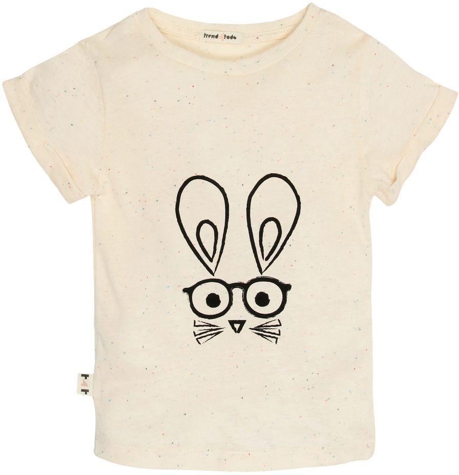 Coelho camiseta infantil algodão