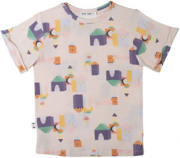 Blocos camiseta  infantil micromodal