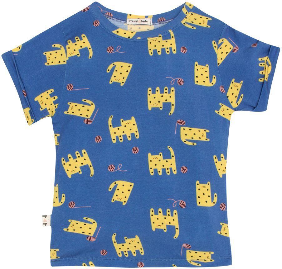 Gato camiseta  infantil micromodal