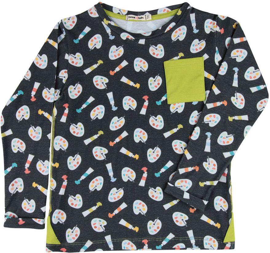 Camiseta infantil Manga Longa Aquarela