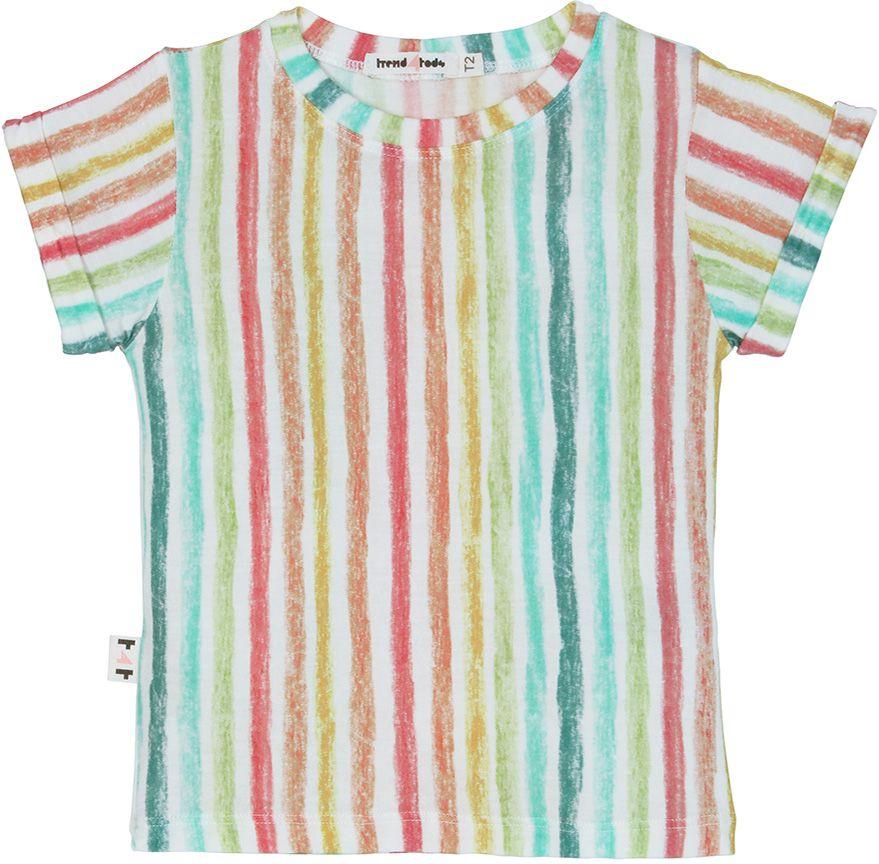 camiseta  infantil micromodal risca de giz
