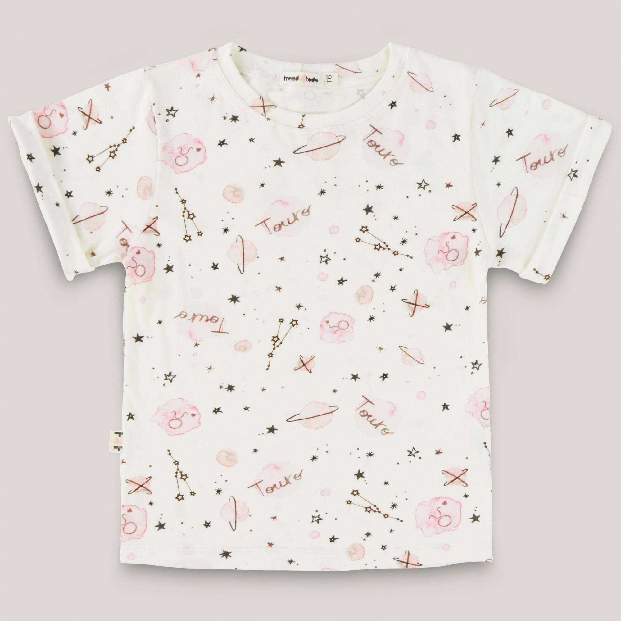 Camiseta infantil signo Touro