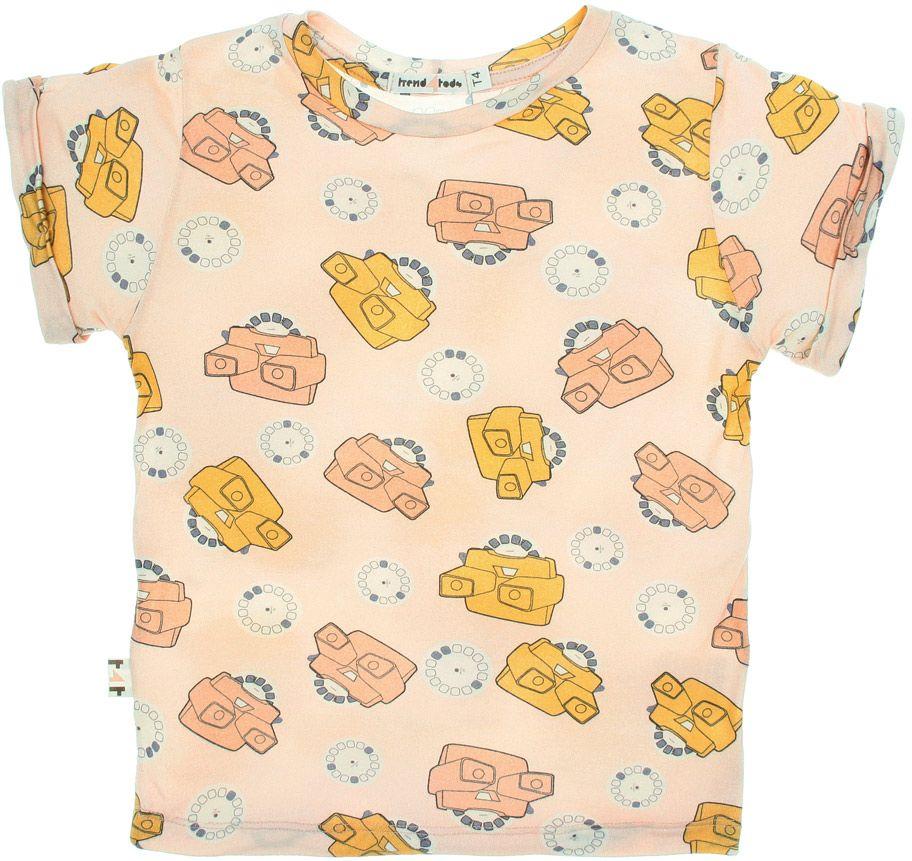View master rosa camiseta  infantil micromodal