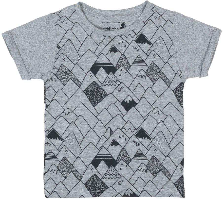 Montanhas camiseta mescla