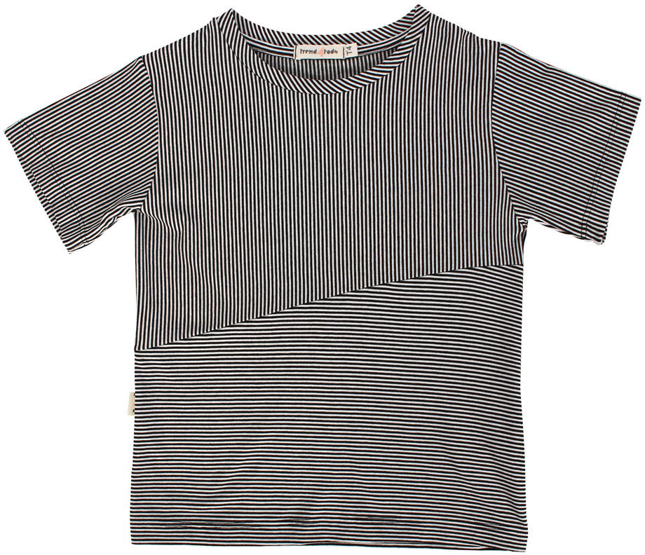 Camiseta recorte listra PB