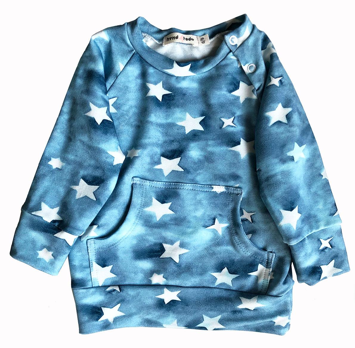Casaco bebê estrelas