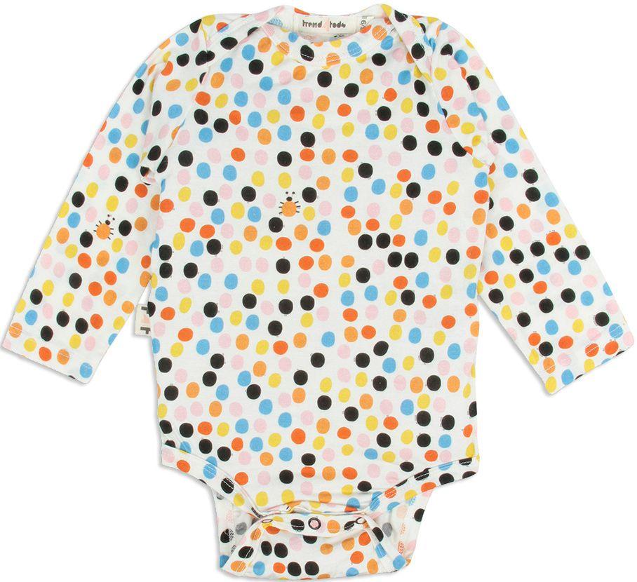 Dots Body Bebê manga longa micromodal