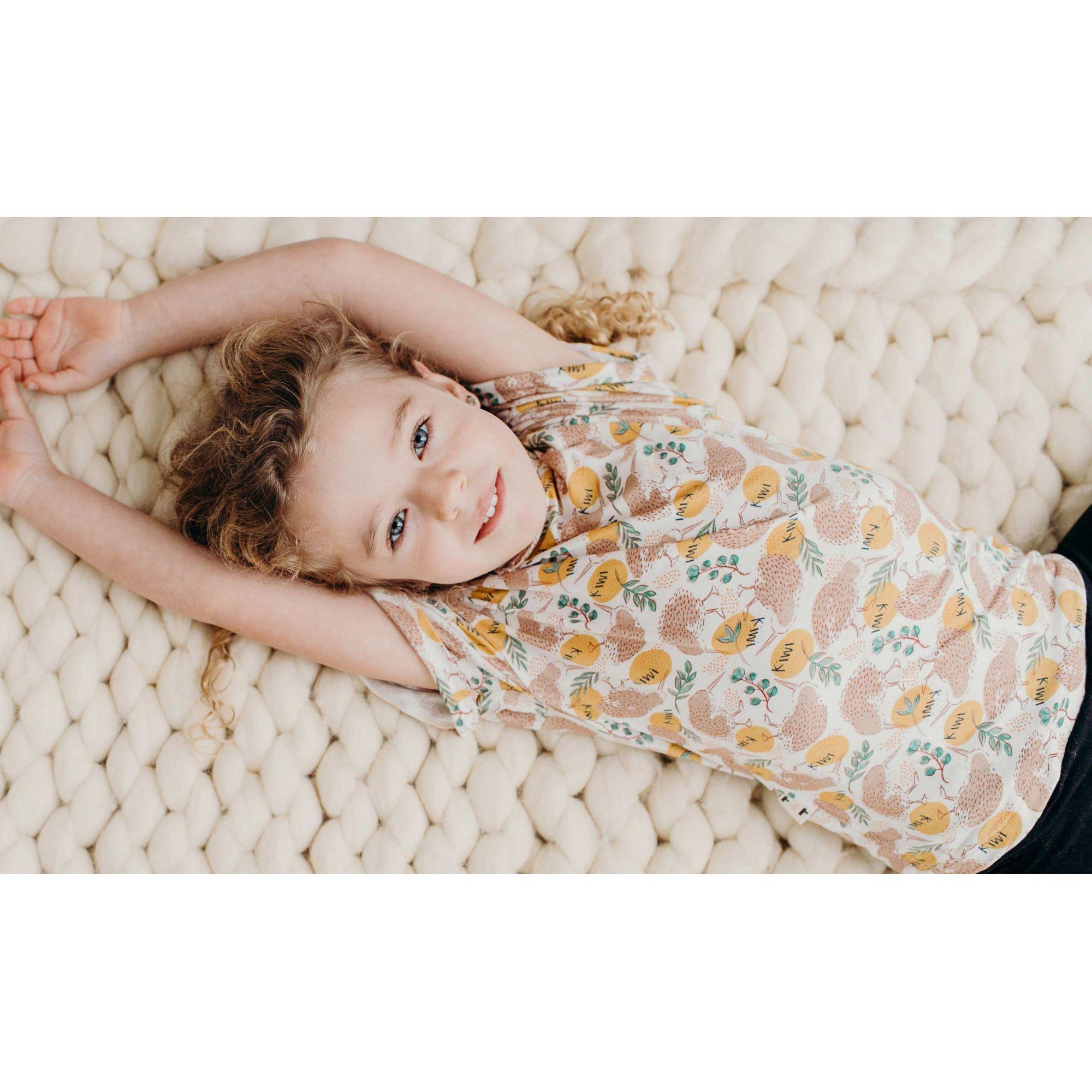 Kiwi camiseta  infantil micromodal