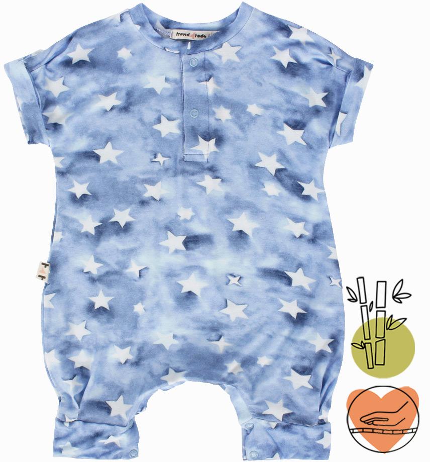 Macacão bebê Estrelas