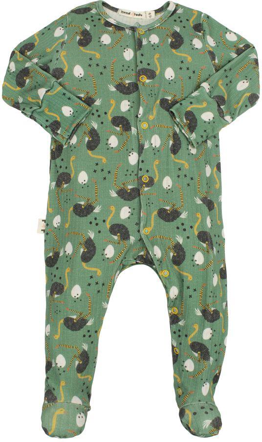 Macacão Bebê Pezinho avestruz