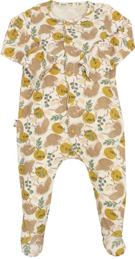 Macacão Bebê Pezinho Kiwi