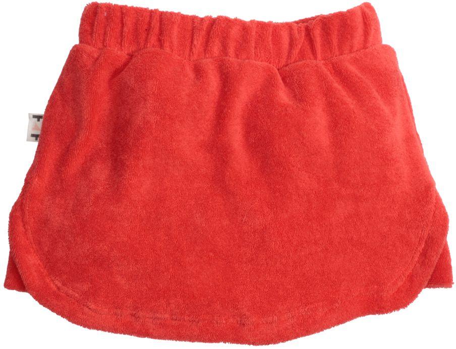 Short-saia Infantil atoalhado Coral