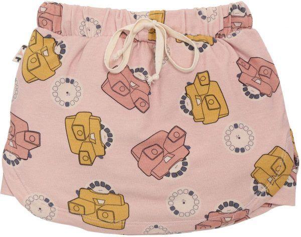 Short-saia Infantil Rosa View Master