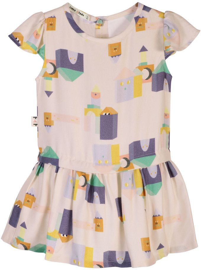 Vestido Infantil Blocos
