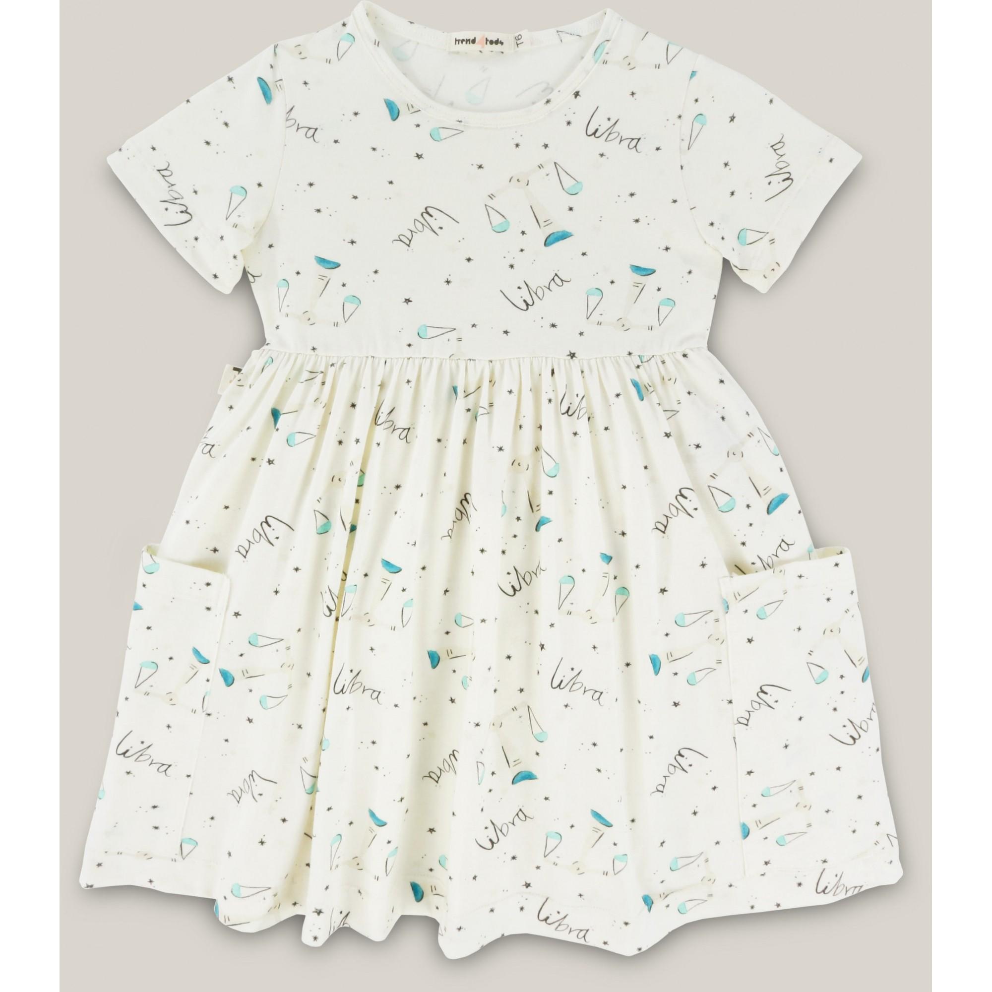 Vestido infantil signo Libra