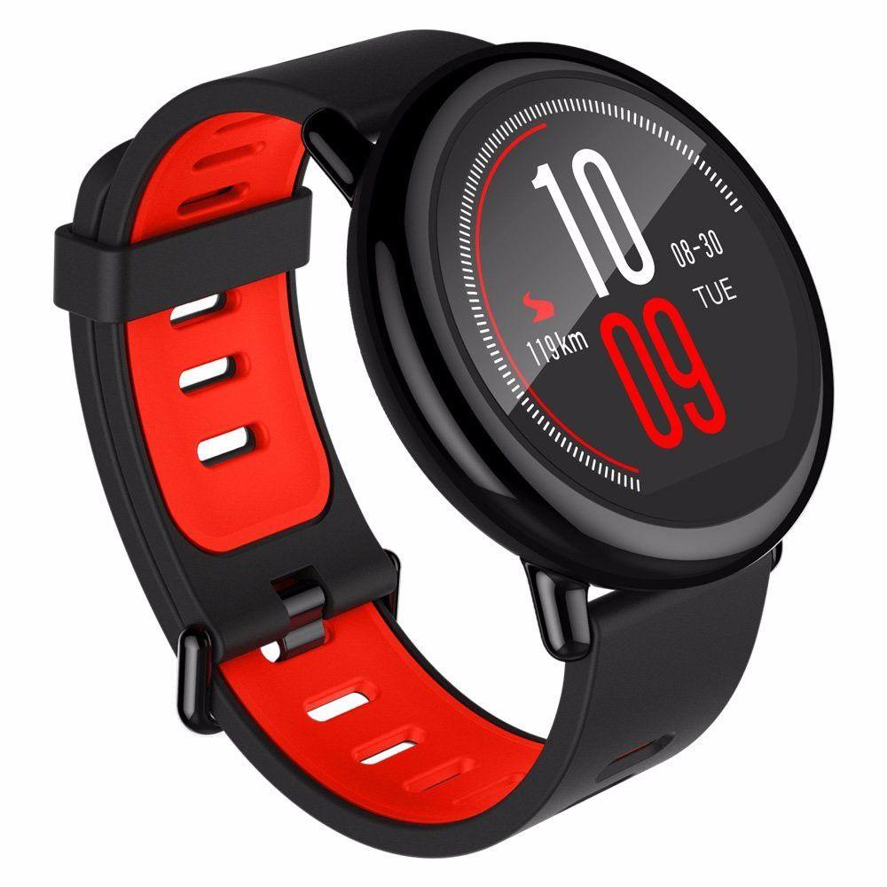 7187f3766f2 Smartwatch Amazfit Pace Xiaomi Inglês Cardio Gps Mp3 Strava - DANGOS