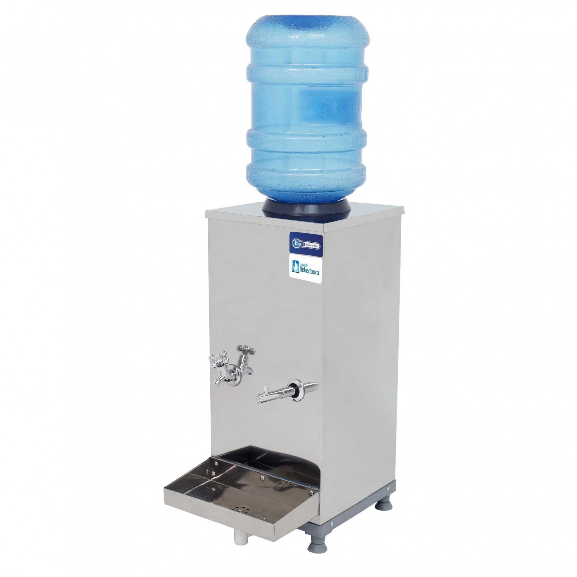 Bebedouro de Água Industrial Bancada 25 Litros Galão Knox Bebedouros