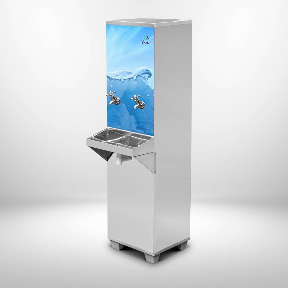 Refrigerador Bebedouro Industrial 25 Litros de Coluna Frisbel Bebedouros + Filtro