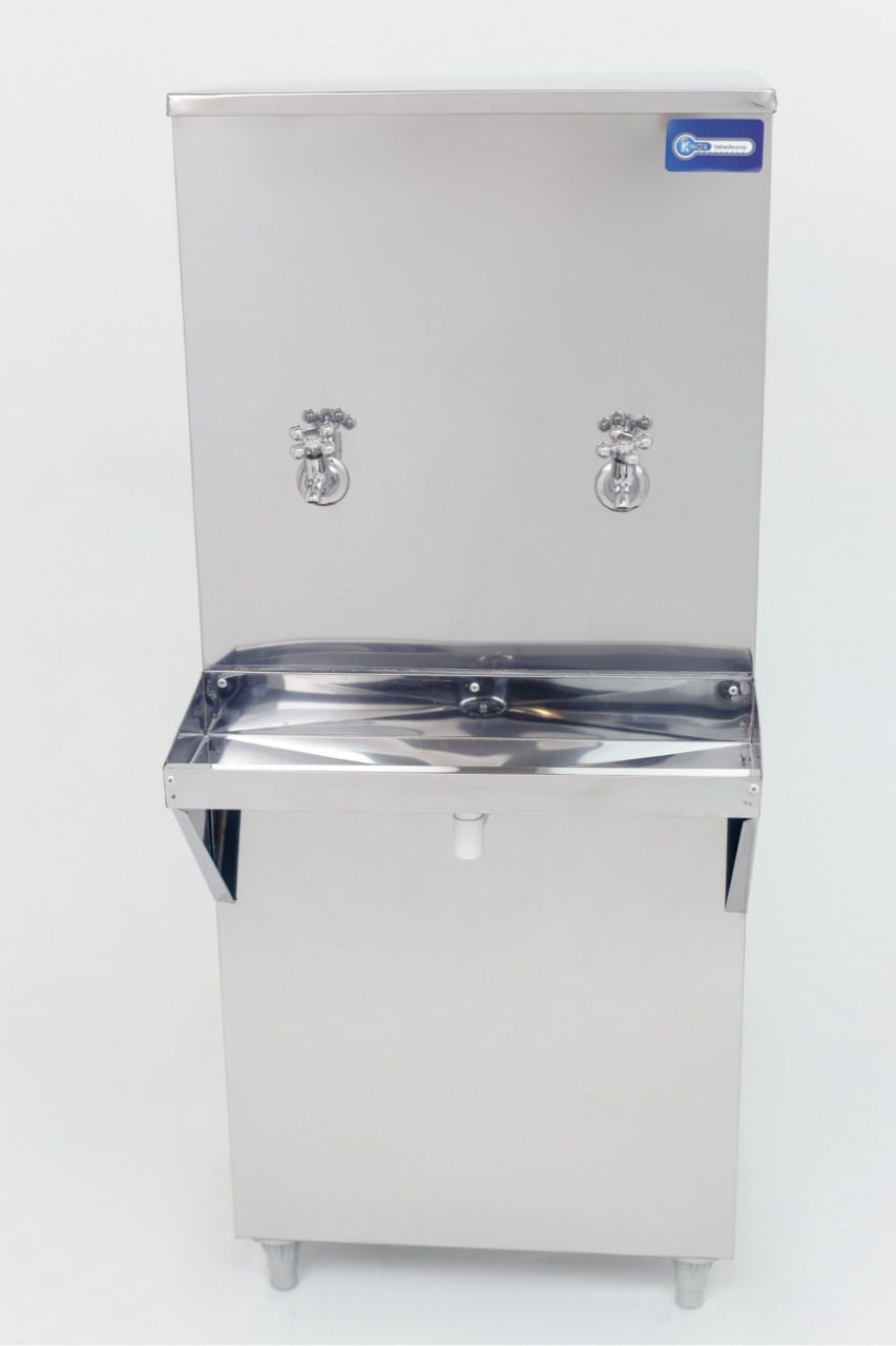Bebedouro de Água Industrial 50 Litros de Coluna Knox Bebedouros + Kit Instalação e Filtro