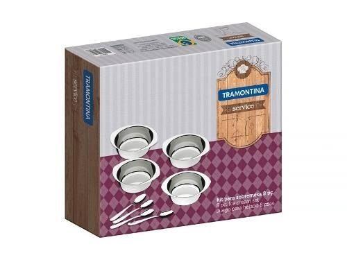 Kit Sobremesa Inox Service Tramontina 8 Peças 64400/780