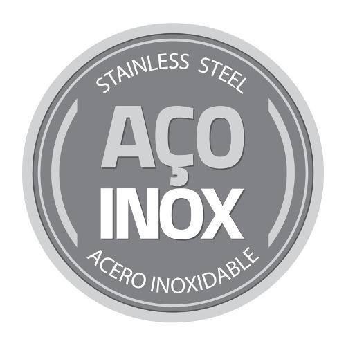 Caçarola Aço Inox Rasa Tramontina Brava 16cm - 62403/160