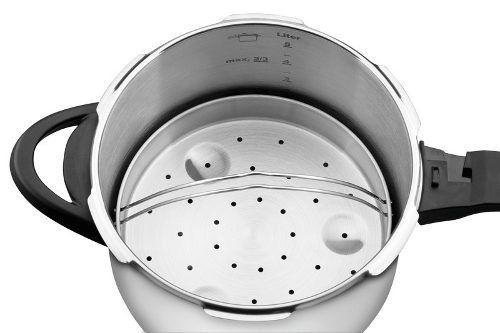 Panela De Pressão Cozi-vapore Inox 22cm 6Litros Tramontina 62516/222